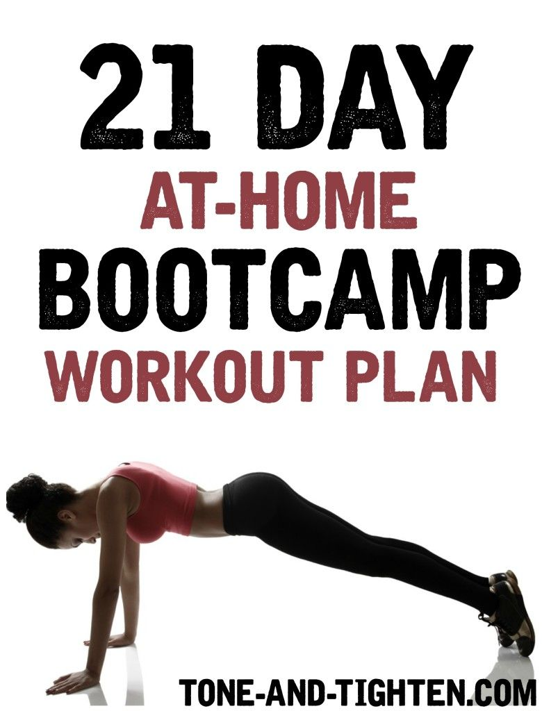 Adult weight loss boot camps