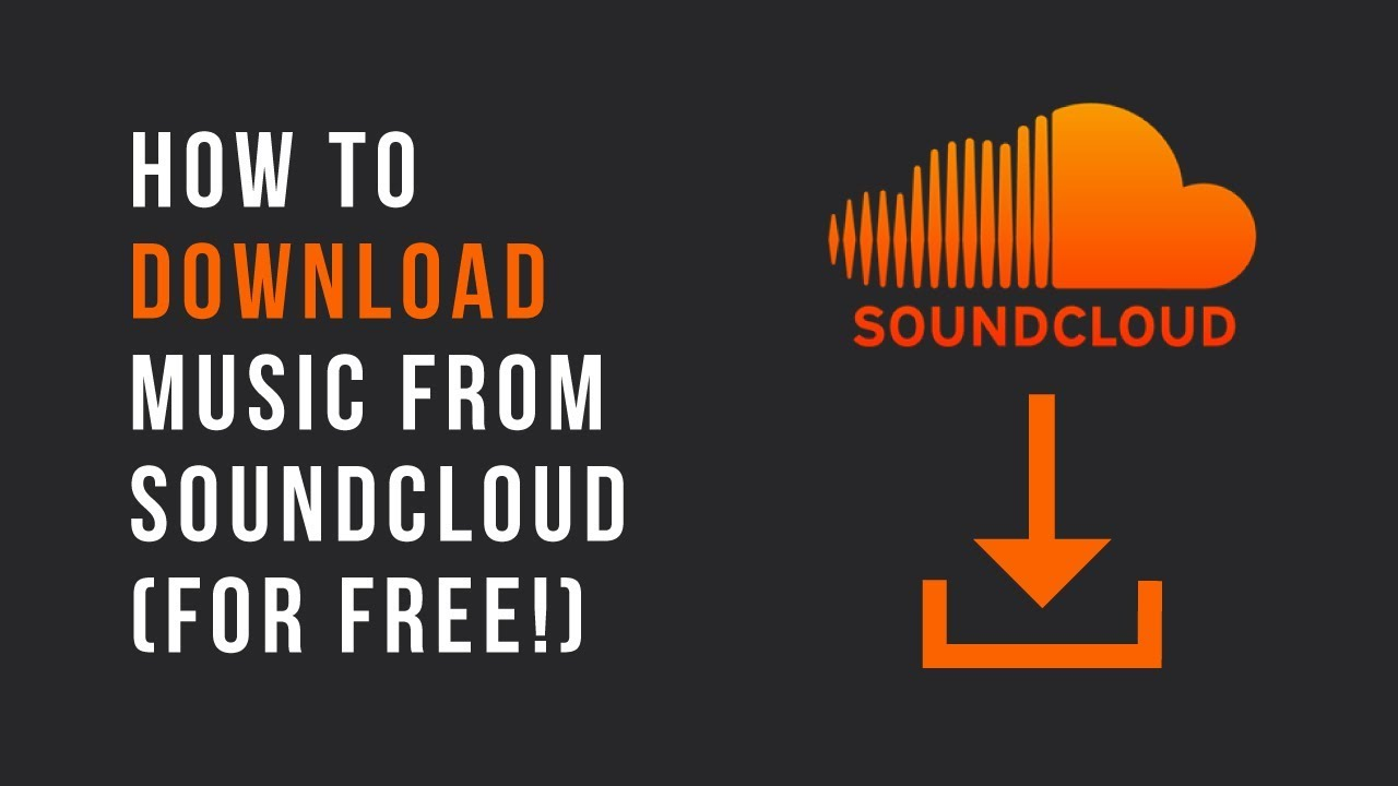 How to download music off soundcloud