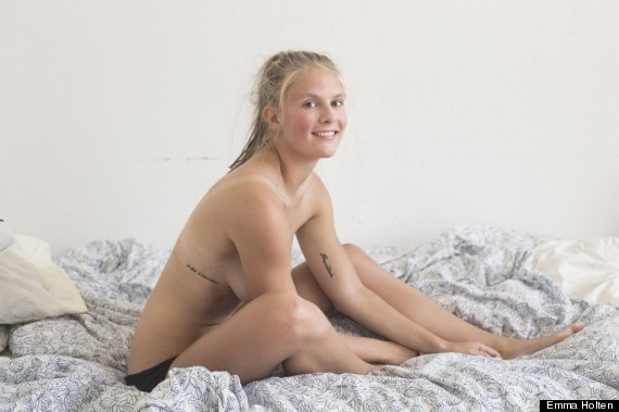 She is nude sexy pretty and danish