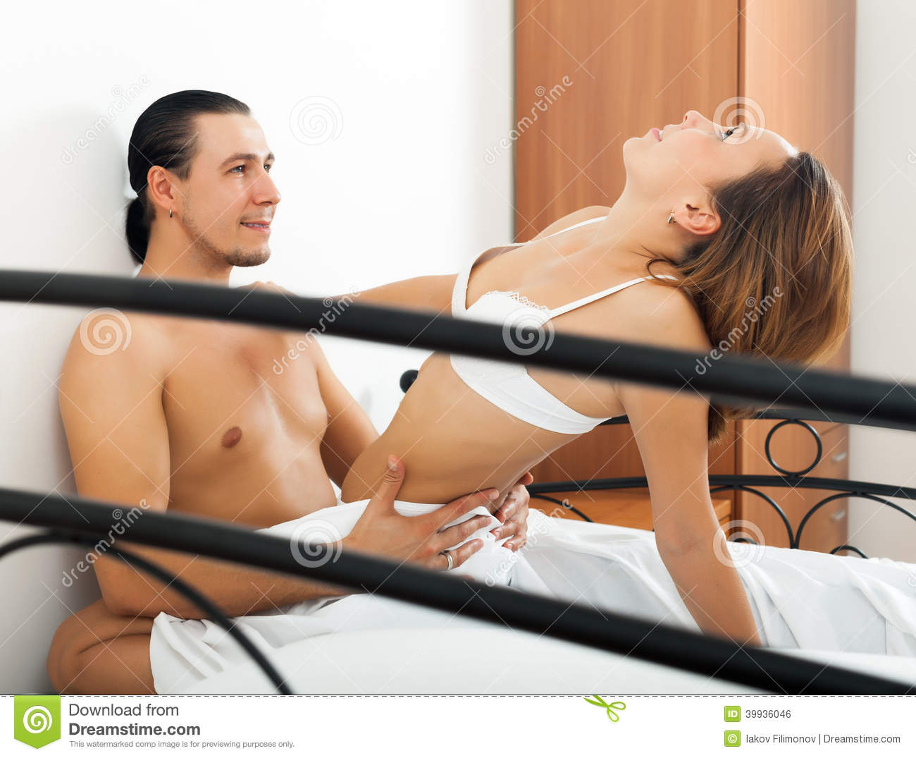 Woman naked in sex with man